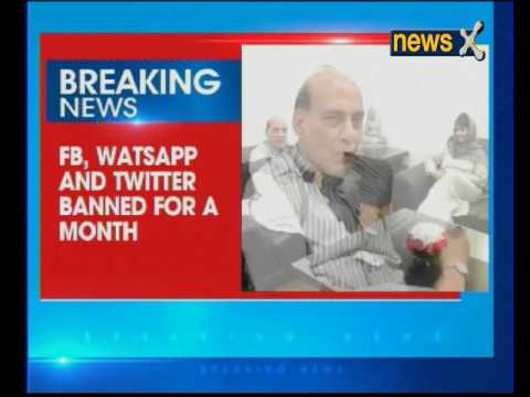 Social Media banned for a month in Jammu and Kashmir