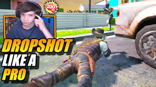 How To DROPSHOT Like a PRO!! Movement Tips & Tricks + Prone Button Guide! // Call of Duty Mobile