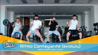 Baixar Ritmo Contagiante (evoluiu) - Felipe Original, Kevin o Chris - Coreografia - Meu Swingão.