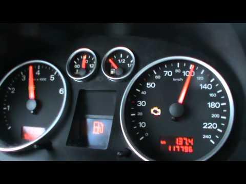 0-100 km/h Audi A2 1.6FSI 16V Acceleration