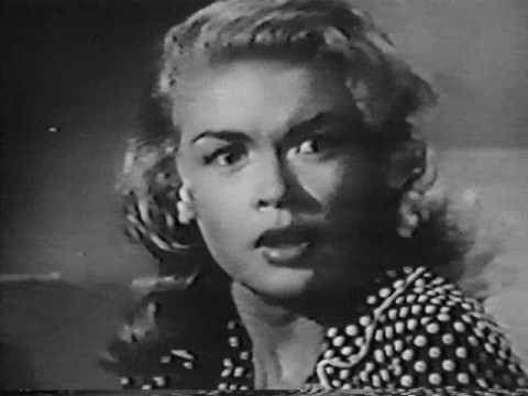 *RARE* Early JAYNE MANSFIELD Movie Trailer - THE BURGLAR - (1956)
