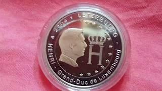 2 € euro luxembourg luxemburg 2004 HENRI grand-duc du luxembourg