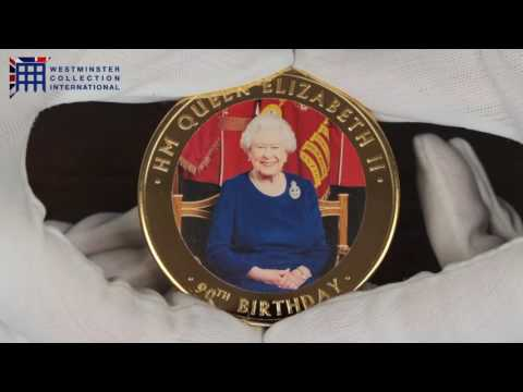 Own A Magnificent Coin In Celebration Of The Queen's 90th Birthday