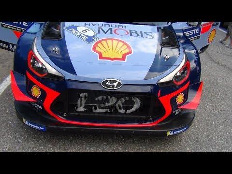 Hyundai i20 WRC compilation