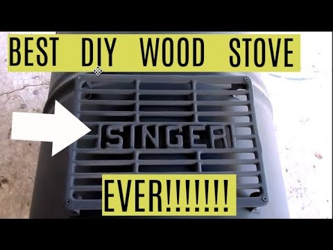 #56 - DIY $60 Wood Stove Improved... Best Stove Ever!!!