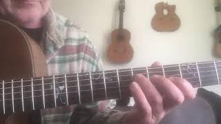 """""""Petite valse"""" joué lentement pour guitariste."""