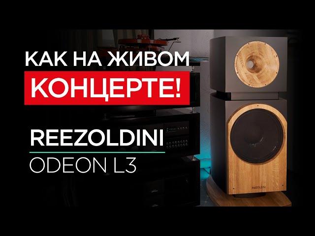 Новейшая напольная акустика Reezoldini Odeon L3