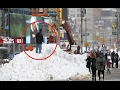 Snow Storm In New York City 2017! - (Compilation)