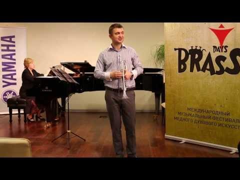 Мастер-класс по игре на трубе солиста РНО Владислава Лаврика