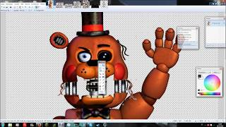 [FNaF speed edit]Withered Toy Freddy v.2