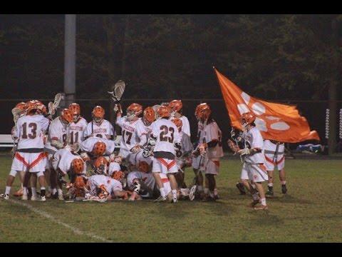 Bel Air vs Fallston Boys Lacrosse 4-29-16