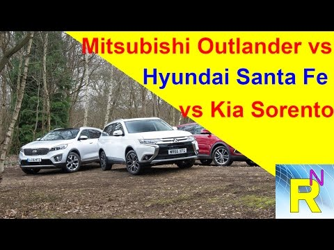 Car Review - Mitsubishi Outlander Vs Hyundai Santa FeVs Kia Sorento - Read Newspaper Tv