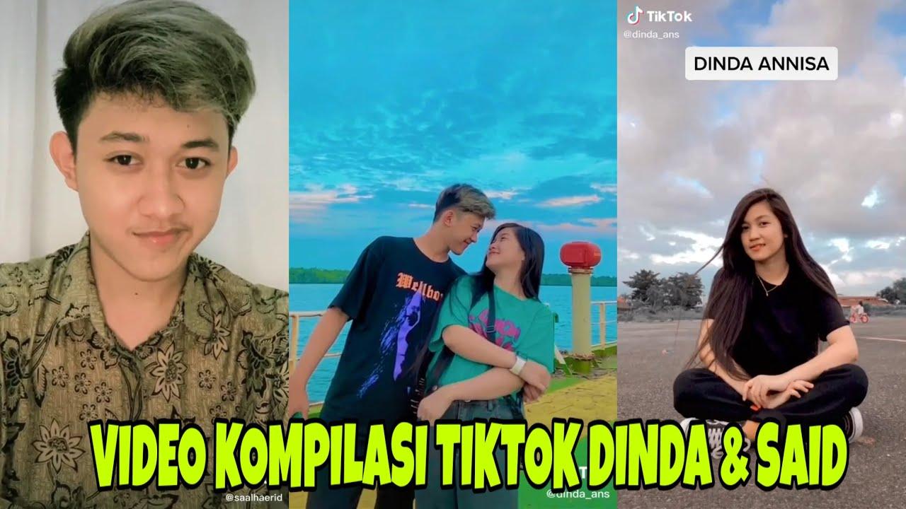Terbaru Video Kompilasi Tiktok Dinda Annisa Said Uday Alhaerid Youtube