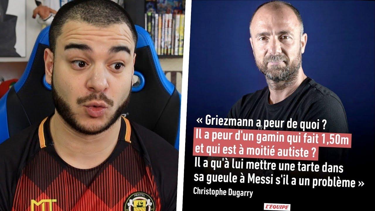 Les propos de Dugarry sur Messi..