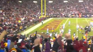 Redskins vs. Cowboys Alfred Morris Touchdown