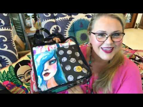 Making Faces collection Live with Jane Davenport