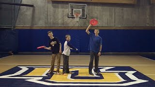 Frisbee Trick Shots // Marquette Edition!