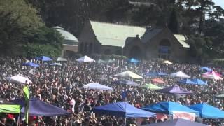 420 HIPPIE HILL Golden Gate Park 4/20/2016  WALKING DUDE