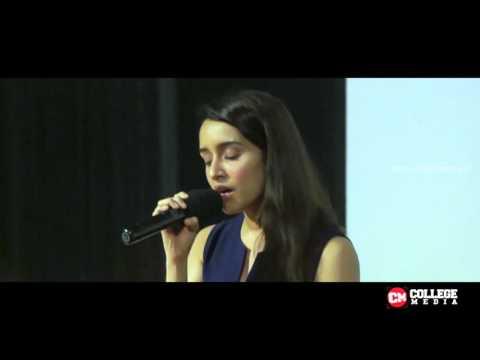 Sun Sathiya by shraddha Kappor Live at MOODI 2015 | IIT Bombay
