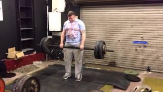 Chris James 2 inch bar deadlift 512lbs