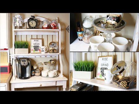 Coffee Station Organization And Diy Ideas