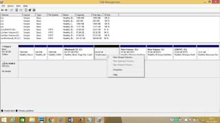 How to Partition Hard Disk in Windows 8 or 8.1 ?