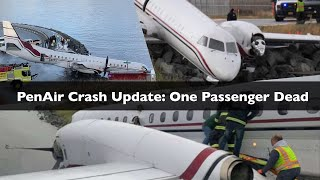 PenAir Crash In Dutch Harbor Unalaska Update One Passenger Dead