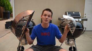 Efficiency Test: Slow N' Sear vs Weber Charcoal Baskets