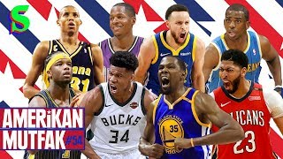 Reggie Miller, Bucks, Chris Paul, 2017 Warriors I Kaan Kural-İnan Özdemir & Amerikan Mutfak #54