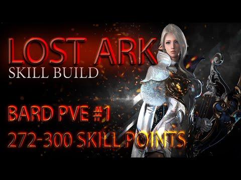 Lost Ark. Bard PVE - #1 Build. 272-300 SP \ Менестрель PVE билд #1. 272-300 скилл-поинтов