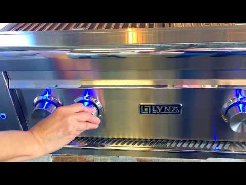 How to light your Lynx Grill