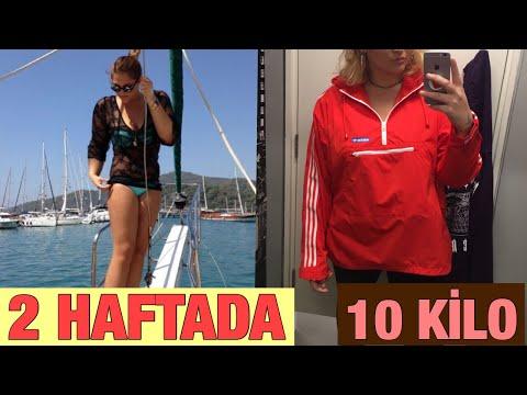 2 Haftada Nasıl 10 Kilo Verdim / Sohbet, Motivasyon, Gerçekler, Diyet Listem, Spor Rutinim