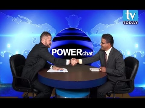 Richard S. Howard in POWERchat with Laxman D. Pant