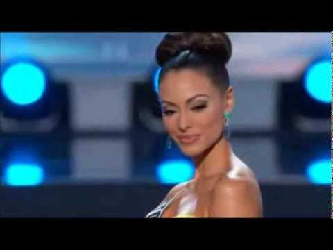 Monic Perez at the Miss Universe 2013 preliminary competition