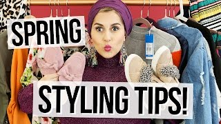 Spring Styling Tips! (Spring Haul)
