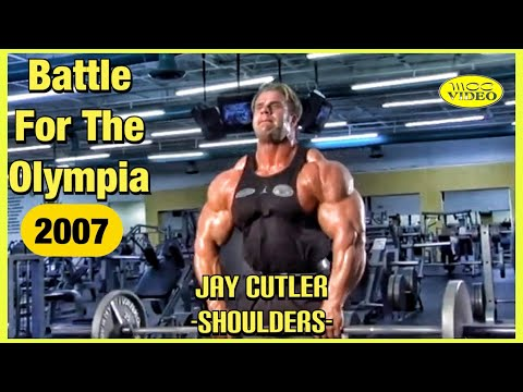 JAY CUTLER -SHOULDER WORKOUT- (2007) BATTLE FOR THE OLYMPIA DVD