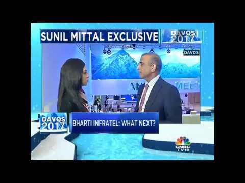 #Davos2017: Bharti Airtel's Sunil Mittal Exclusive