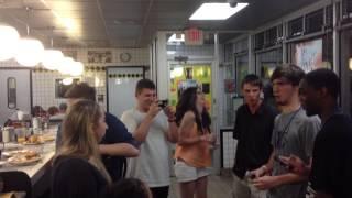 Waffle House jukebox sing along