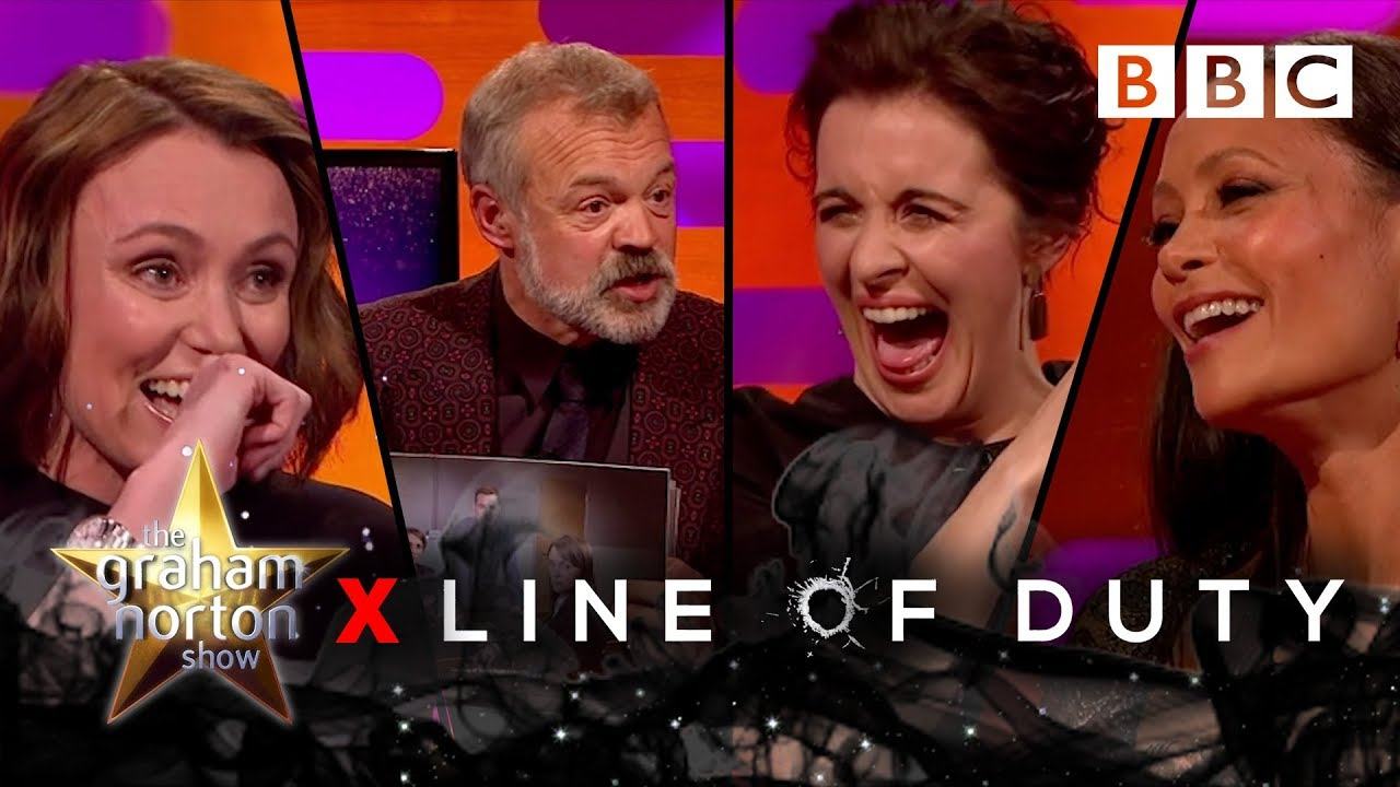 Download Graham Norton undercover with Line Of Duty's leading ladies! 🔫💥 - BBC The Graham Norton Show