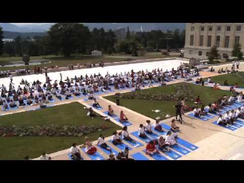 United Nations Geneva, Yoga Day