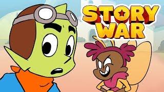 Story War on Cartoon Hangover