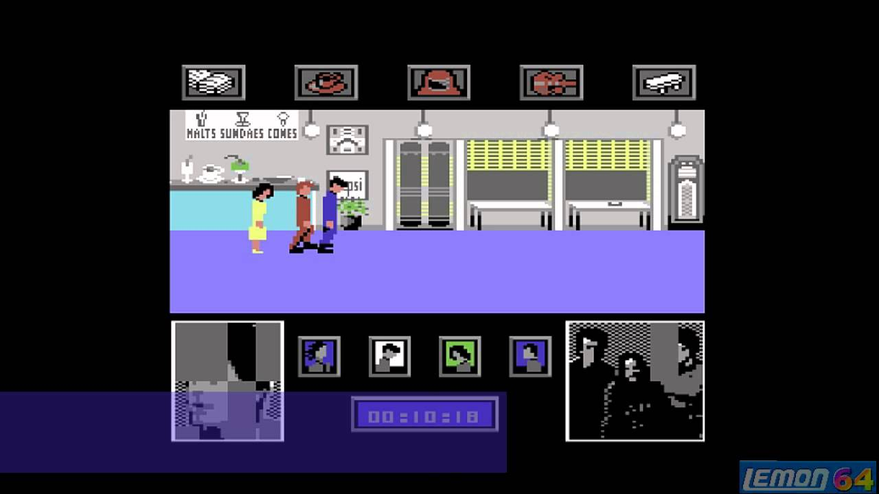 Back To The Future (C64) - Playguide and Review - By Lemon64 com