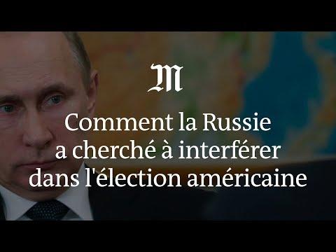 Comment la Russie a cherché à interférer dans l'élection américaine
