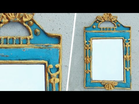 NEWS PAPER MIRROR FRAME