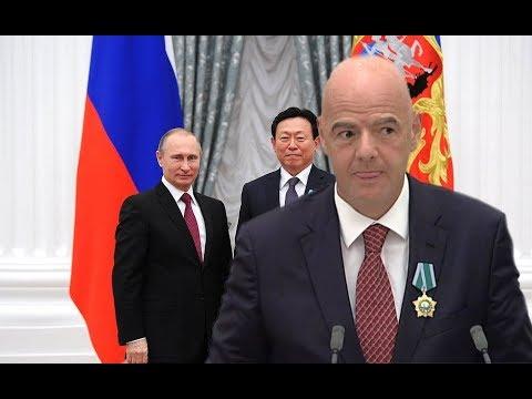Вручение государственных наград Российской Федерации в 2019 году.