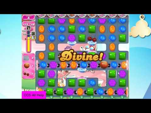 Candy Crush Saga Level 2297 NO BOOSTERS Cookie