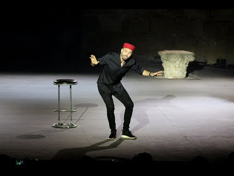 Nidhal Saadi fait son Show au Festival International de Carthage