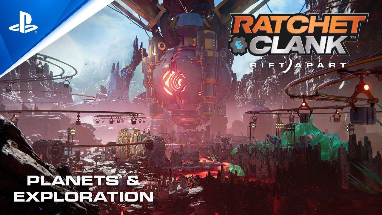 Ratchet & Clank: Rift Apart – Planets & Exploration | PS5