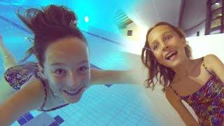 Carla Underwater - Water slides and underwater fun