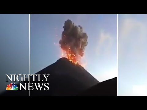 Guatemala Volcano Eruption: At Least 62 Killed, Many Missing | NBC Nightly News